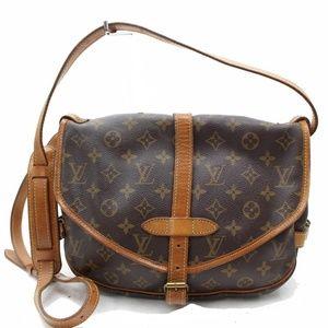 100% Auth Louis Vuitton Saumur 30 Sling Bag